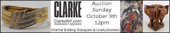 Fine Art and Antique Auction: Sunday Oct 9 - Clarke NY