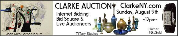 Clarke Auction - Sunday August 9 - Clarkeny.com