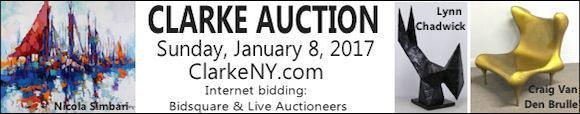 Clarke Auction - Sunday January 8 2017 - ClarkeNY.com