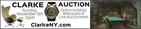 Clarke Auction - Sunday November 5 - ClarkeNY.com
