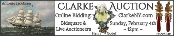 Clarke Auction - Sunday Feb 4 - ClarkeNY.com