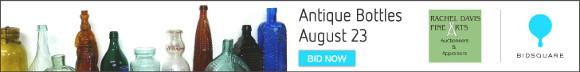 Bidsquare Antique Bottles Auction - August 23