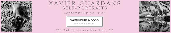 Waterhouse and Dodd - September 9-30 - Xavier Guardans Self-Portraits