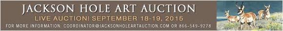 Jackson Hole Art Auction September 18-19