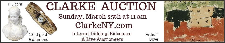 Clarke Auction - March 25 - ClarkeNY.com