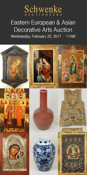Schwenke Auctioneers - Eastern European and Asian Decorative Arts Auction - Feb 22