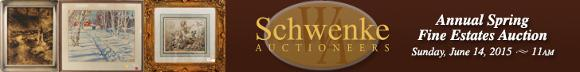 Schwenke Auctioneers Fine Estate Spring Auction