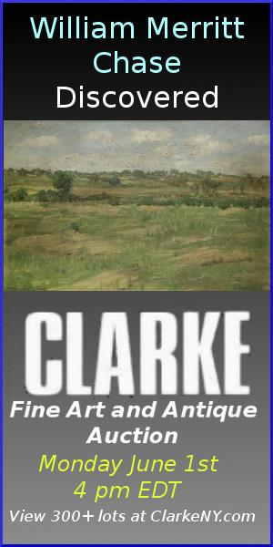 Clarke NY Auction: June 1 at 4 PM