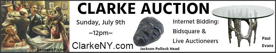 Clarke Auction - Sunday, July 9