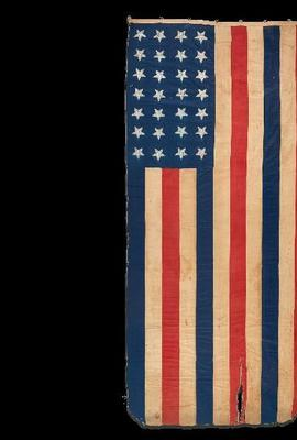 A 28-Star American Flag Commemorating Texas Statehood, circa 1846