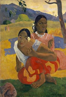 Paul Gauguin, Nafea Faa Ipoipo? (When Will You Marry?), 1892, oil on canvas.