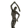 Richmond Barthé, Feral Benga, cast bronze, with a dark brown patina, modeled in 1935, cast in 1986.  Sold June 4, 2020, in African-American Fine Art for $629,000, a record for the artist.