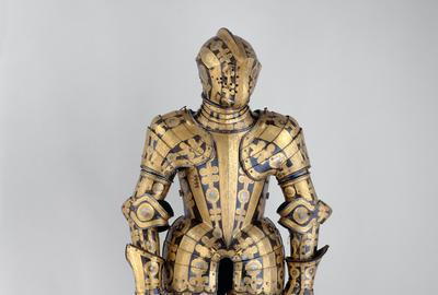 Armor for the Field and Tournament of Duke Friedrich Ulrich of Brunswick-Lüneburg.  British, Greenwich, 1610–1613.  Photo: Hulya Kolabas.