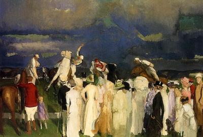 "George Bellows' ""Polo Crowd"""
