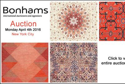 Bonhams Auction Features Nazmiyal Antique Rugs