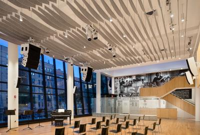 HSA Main Gallery, performance and exhibition space fully renovated.