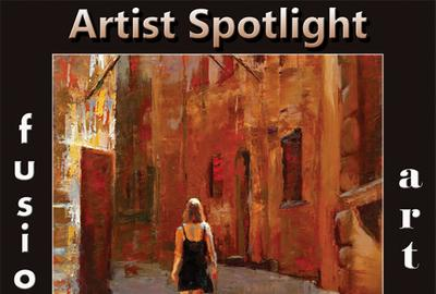 Jamie Lightfoot Artist Spotlight Solo Art Exhibition www.fusionartps.com