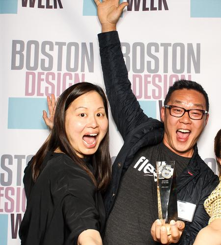 "Joel Kamm, Founder and CEO of Flexetail who received the ""Newcomer of the Year"" Award at the Boston Design Awards 2019."