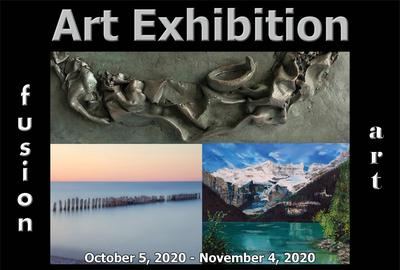 5th Annual Waterscapes Art Exhibition - October 2020 www.fusionartps.com