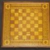 This chessboard was made by a man who was on the ship sent to retrieve bodies from the Titanic when it sank in April 1912.
