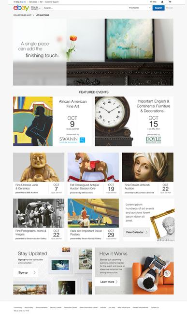 Ebay Launches Live Auctions For Premium Art And Collectibles Artwire Press Release From Artfixdaily Com