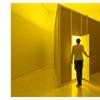 Yellow Room (Triangular), 1973, in Museo Picasso Málaga's exhibition.  Solomon R.  Guggenheim Museum, New York © Courtesy by Solomon R.  Guggenheim Museum Archives, Nueva York © Bruce Nauman, VEGAP, Málaga, 2019