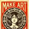 Shepard Fairey Brings His 30th Anniversary Debut Show To BEYOND THE STREETS New York
