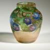 A morning glory blown-glass vase by Tiffany Studios, which won a first place award at the 1914 Salon of the Société des Artistes Français in Paris.