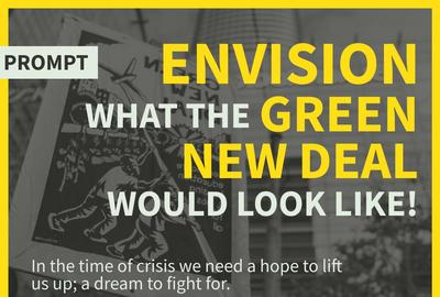 Call for art: Sunrise and the Green New Deal