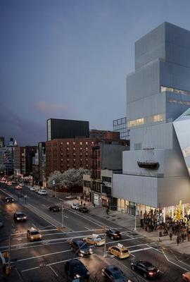 Rendering for the New Museum