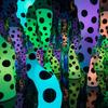 The art installation 'Love is Calling' by Japanese artist Yayoi Kusama.