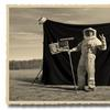 Astronaut Costume, 1969.  THOMAS HERBRICH, The Truth About the Moon Landing, July 13 - August 24, 2019, at PDNB Gallery, Dallas.