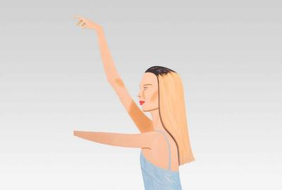 Alex Katz Dancer 2 Cutout