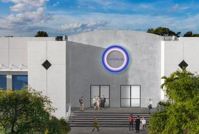 Experiential Art Center in Miami, Façade Rendering.  Courtesy of Superblue.  Photo: Moris Moreno