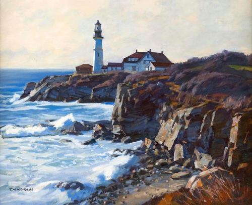AMERICAN PAINTINGS AUCTION AT ELDRED'S FEATURES TWO PRIVATE COLLECTIONS -  Artwire Press Release from ArtfixDaily.com