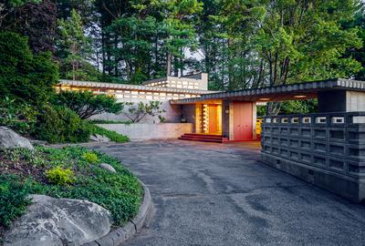 Frank Lloyd Wright's Kalil House was acquired by the Currier Museum of Art through a donor.