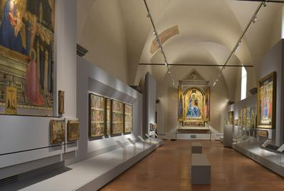 Fra Angelico Room in the Museo di San Marco, Florence, Italy.  Tabernacle of Linaioli side.  Photos by Antonio Quattrone Fine Arts Photographer