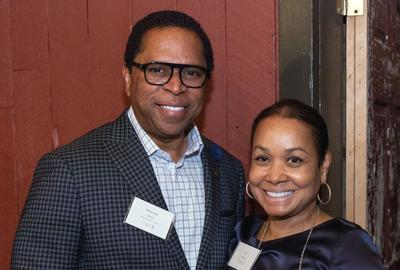 Dr.  Monroe Harris Jr.  and Dr.  Jill Bussey Harris