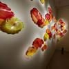 Dale Chihuly, Grand Stairwell Installation, 2018 23 x 64 ½ x 2' Groninger Museum, Groningen, Netherlands Photographer Credit: Scott Mitchell Leen © Chihuly Studio.  All Rights Reserved.