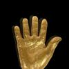 Gold Cast of Mandela's hand
