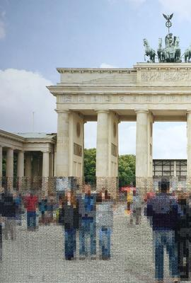 'Brandenburg Gate' by Diane Meyer, courtesy of Klompching Gallery, New York.