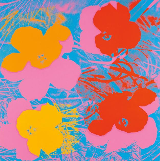 Andy Warhol (American, 1928-1987) Flowers/A Portfolio of Ten Works, Suite of 10 screenprints 1970 (Lot 70, Estimate $400,000-$600,000)