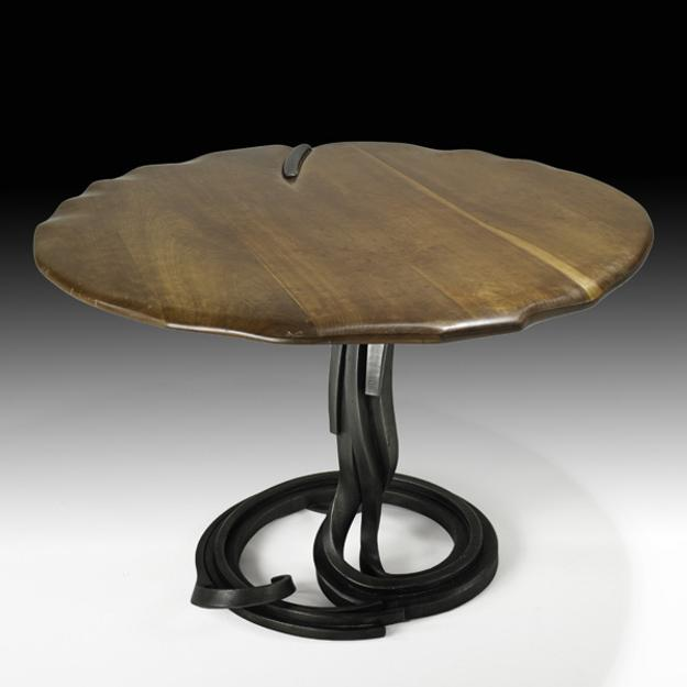 Lot 879, Albert Paley, Custom Dining Table, $18,000-24,000
