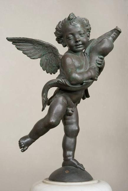 Andrea del Verrocchio.  Putto with a Dolphin, 1470‒c.  1475.  Photograph: Courtesy of Musei Civici Fiorentini