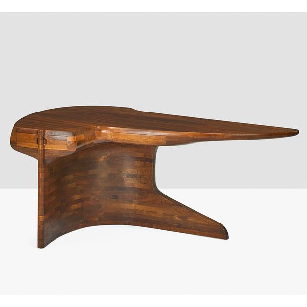 Lot 1000, Wendell Castle important laminated desk, sold for $183,750