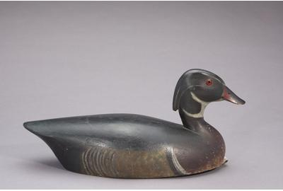 Thomas Chambers (1860-1948), Wood Duck Drake, c.  1890, Estimate: $80,000-$120,000