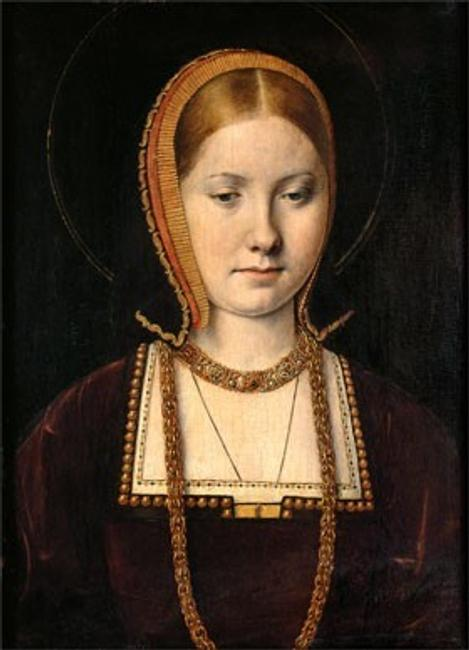 Michel Sittow, Mary Rose Tudor (1496–1533), Sister of Henry VIII of England, c.  1514, oil on panel Kunsthistorisches Museum Vienna, Gemäldegalerie, KHM—Museumsverband