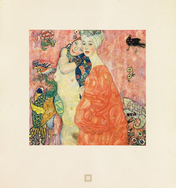 Lot 168: Gustav Klimt, Eine Nachlese, with 30 plates, Vienna, 1931.  Estimate $15,000 to $25,000.