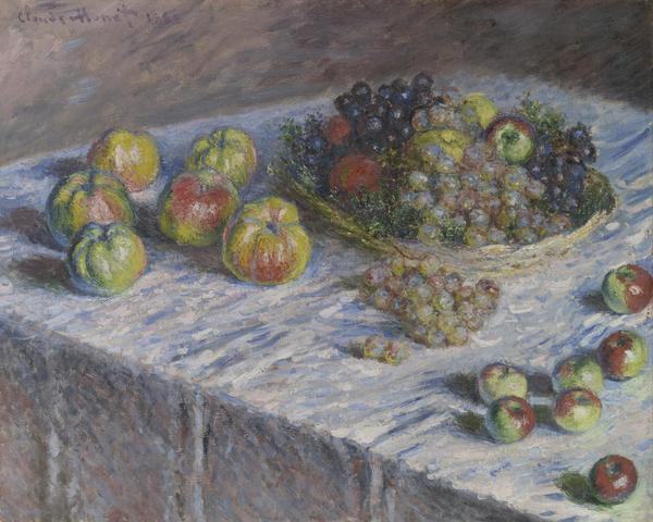 Claude Monet.  Apples and Grapes, 1880.  Mr.  and Mrs.  Martin A.  Ryerson Collection.