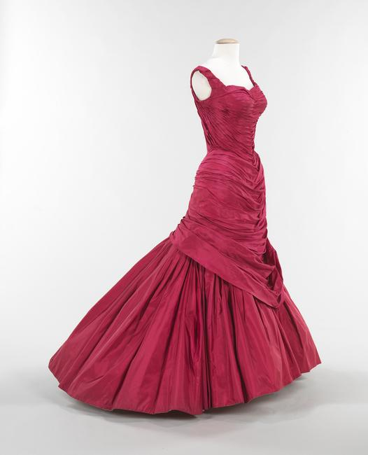 "Charles James (American, born Great Britain, 1906–1978), ""Tree"" Evening Dress, Brooklyn Museum Costume Collection at The Metropolitan Museum of Art, Gift of the Brooklyn Museum, 2009; Gift of Mrs.  Douglas Fairbanks, Jr., 1981 (2009.300.991) Image © The Metropolitan Museum of Art"